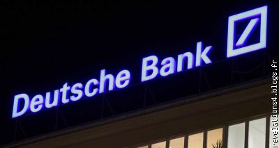 la Deutsche bank (1�re banque allemande ) en difficult�