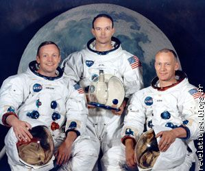 "3 astronautes "" mission lunaire apollo11 """