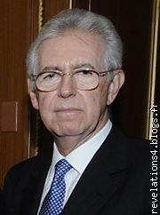 mario Monti, chef du gouvernement italien (Bilderberg, Trilatérale ! )