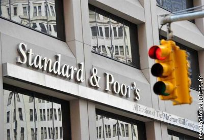Standard and Poor's à New-york (prête à agir contre la France)