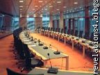 la salle de Conférence de la Bce