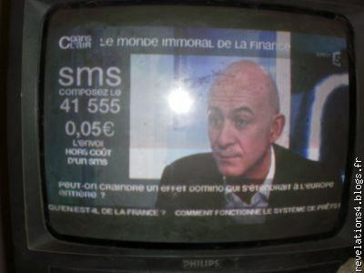 """"""" C dans l'air """", France5 le 19/02/10"""