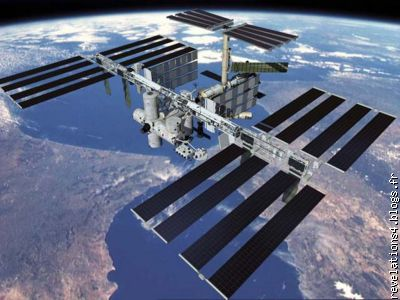 """ la station spatiale internationale """