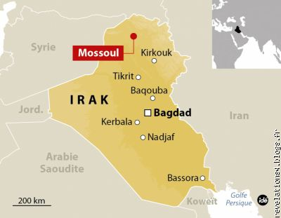 offensive contre daesh � Mossoul